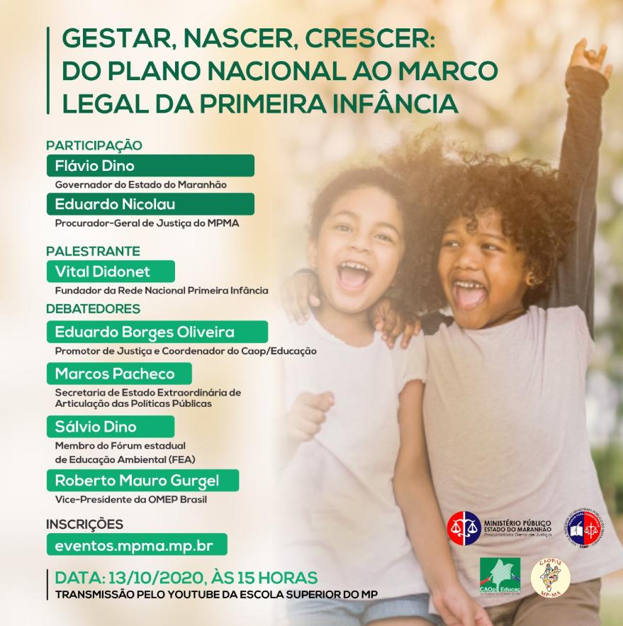 Gestar, nascer, crescer: do Plano Nacional ao Marco Legal da Primeira Infância.
