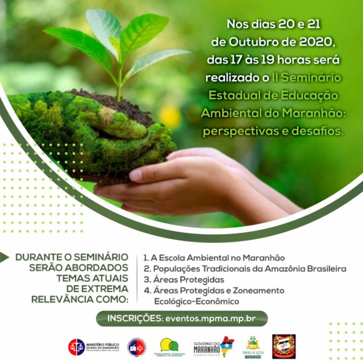 """""""II Seminário Estadual de Educação Ambiental do Maranhão: Perspectivas e Desafios."""""""