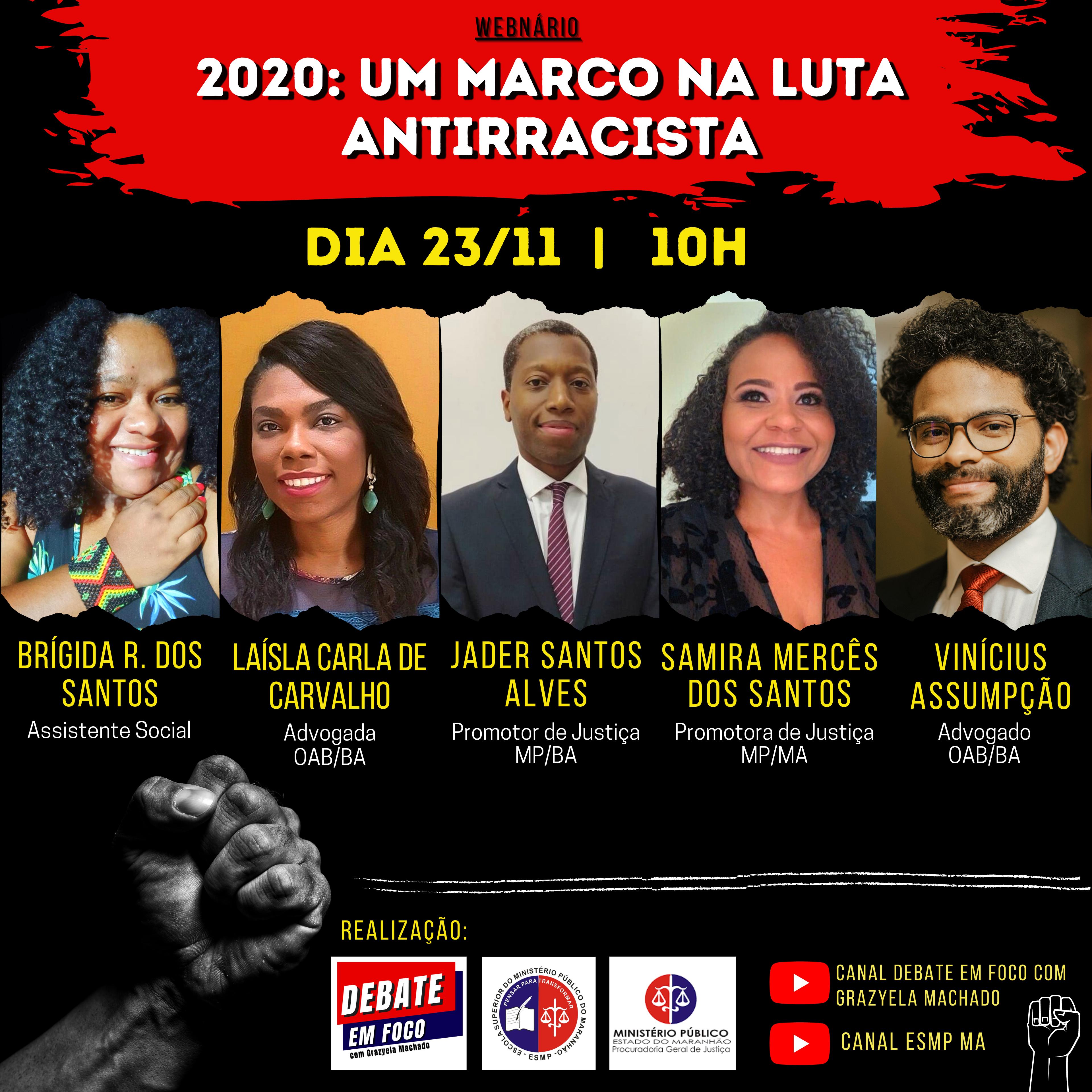 Wébnario - 2020: Um Marco na Luta Antirracista