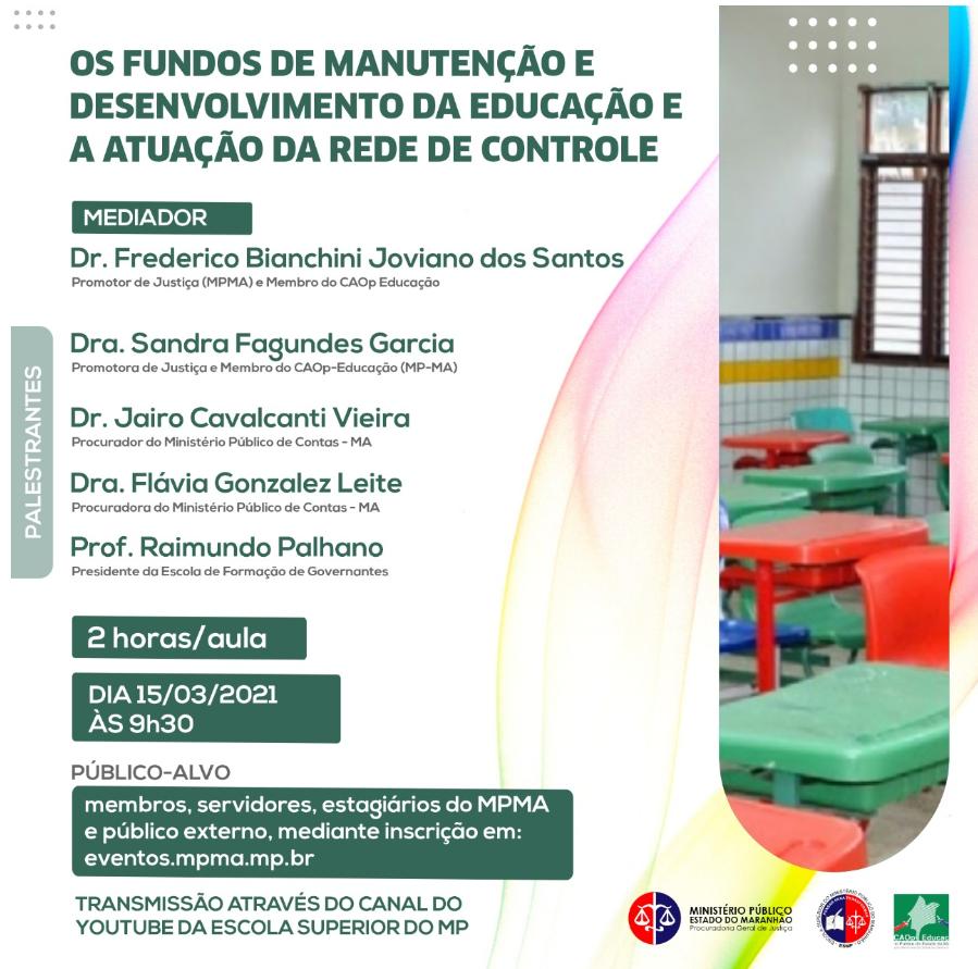 Os Fundos de Manutenção e Desenvolvimento da Educação e a atuação da Rede de Controle