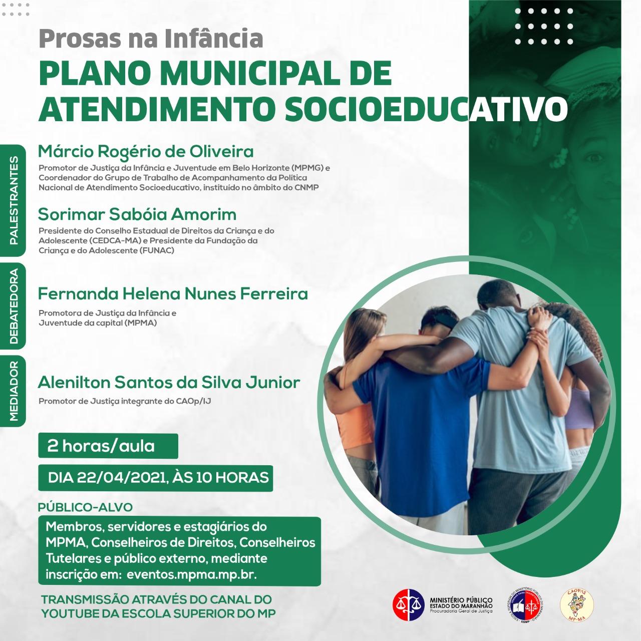 Prosas na Infância - Plano Municipal de Atendimento Socioeducativo