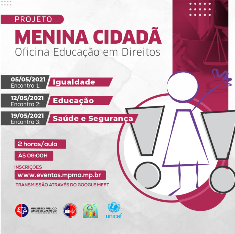 Projeto Menina Cidadã: Oficina Educação em Direitos