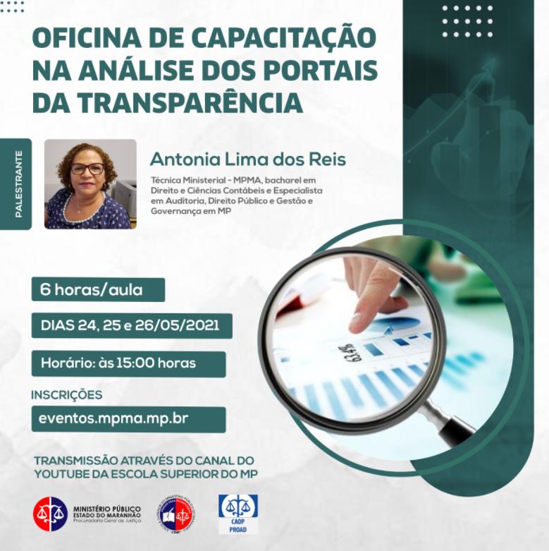 Oficina de Capacitação – Análise dos Portais da Transparência