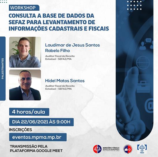 Workshop Consulta a Base de Dados da Sefaz para Levantamento de Informações Cadastrais e Fiscais