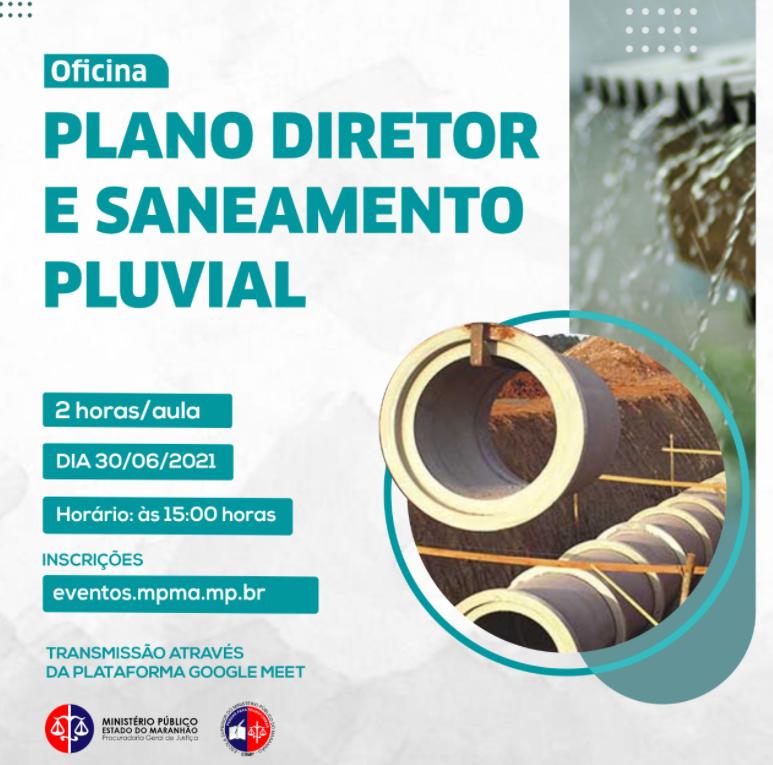 Oficina Plano Diretor e Saneamento Pluvial